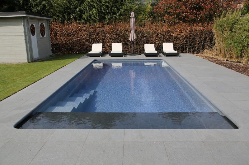 Leisure pools la piscine coque cube un mod le superbe et minimaliste - Piscine leisure pools ...