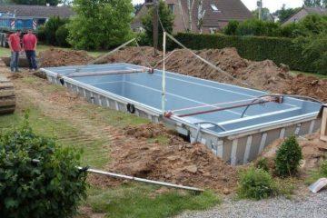 Piscine leisure pools monobloc hainaut namur luxembourg - Piscine foret noire allemagne saint denis ...
