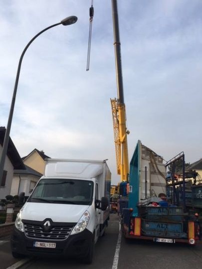 Installation camion piscine Luxembourg