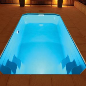 OLYMPUS Piscine coque Leisure Pools sans Polyester garanti à vie !