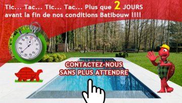 Tic...Tac...Tic...Tac... J-2 pour nos conditions Batibouw !