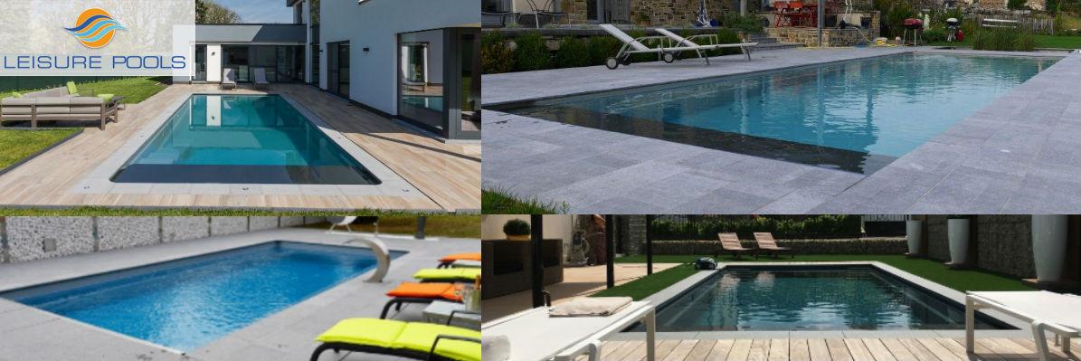 Leisure pools nombreux mod les coques de piscines en belgique - Piscine leisure pools ...