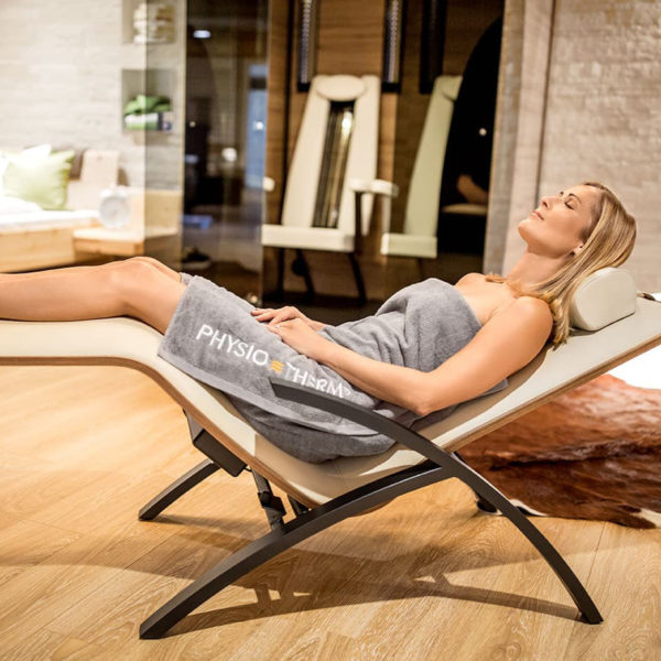 Diva Relax Basic : Chaise longue chauffante