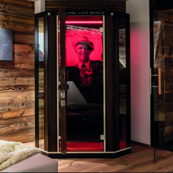 Ergo Balance II Deluxe Pro : Cabine infrarouge Physiotherm