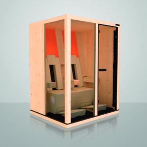 Ergo Balance II Plus : cabine infrarouge Physiotherm