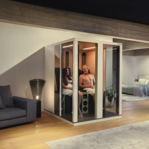 Ergo Balance II Relax : Cabine infrarouge Physiotherm