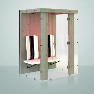 Ergo Integra II : Cabine infrarouge Physiotherm
