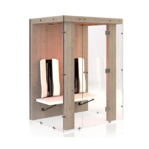 Ergo Integra II Pro : Cabine infrarouge Physiotherm