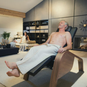 Ergo Relax Lounge : Chaise longue chauffante Physiotherm